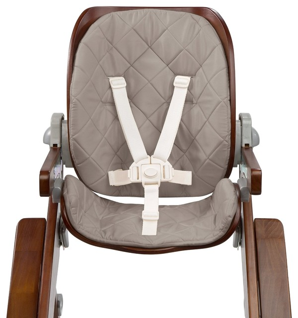 Summer Infant Bentwood High Chair Seat Cushions Gray