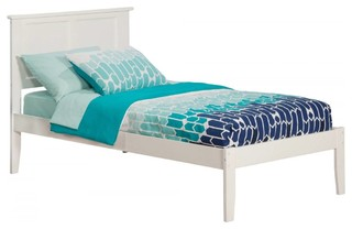 Madison Bed, White, Twin XL