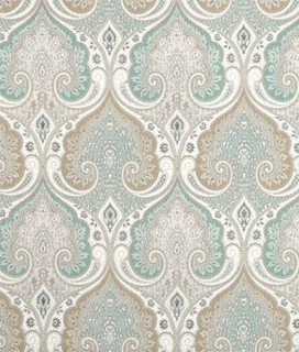 Latika Fabric Traditional Upholstery Fabric By
