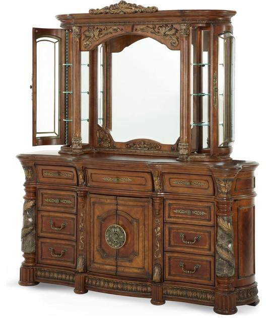Aico Michael Amini Villa Valencia Dresser Amp Mirror