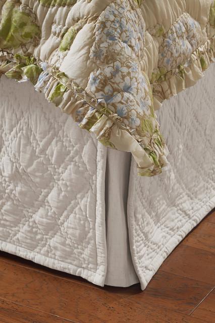 Diamond Quilted Bedskirt : quilted bedskirt - Adamdwight.com