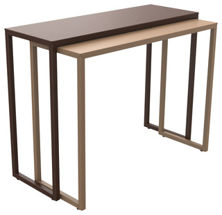 Sliding Console Table Desk