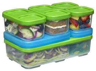 Rubbermaid 1806233 Food Container Entree Kit - Contemporary - Food Storage Containers - by Life ...