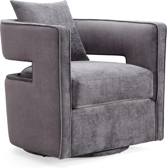 Kennedy Swivel Chair - Gray