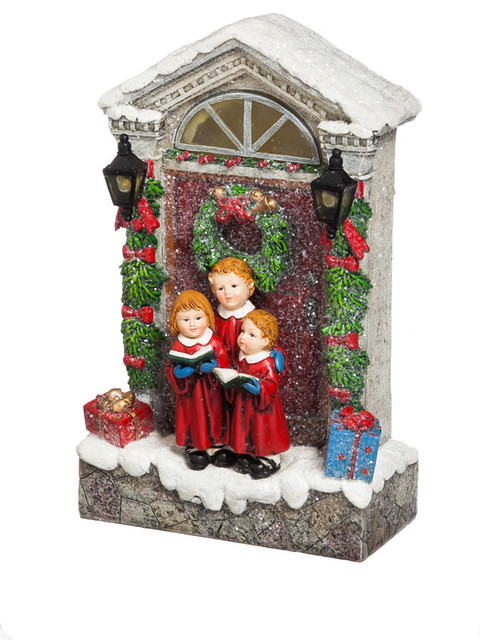 Evergreen enterprises inc new creative holiday choir Traditional outdoor christmas decorations