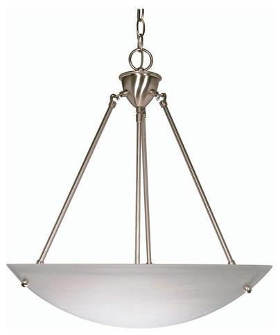 Nuvo Lighting 60/370 3 Light Down Lighting Bowl Pendant.