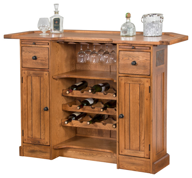 Traditional Home Bar Designs: Wine And Bar Cabinets