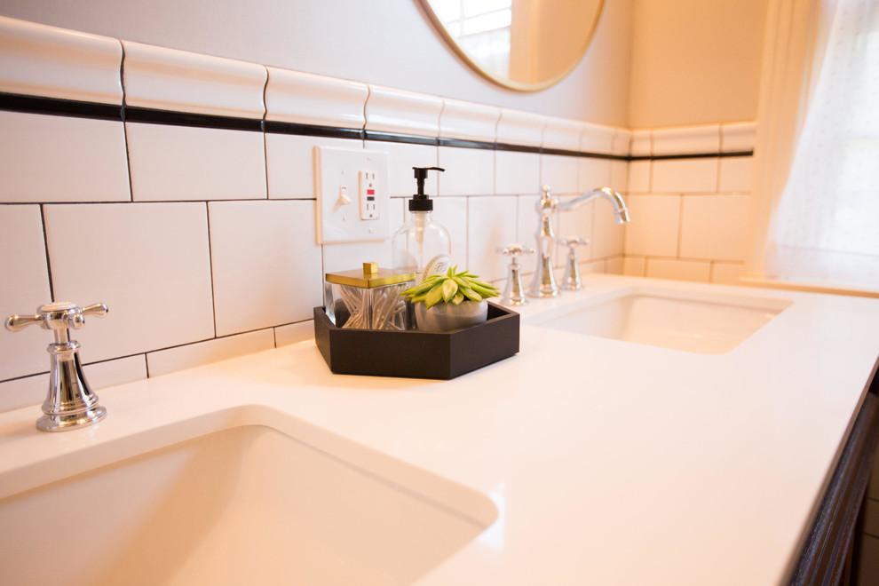 Boucher Bathroom Remodel - Farmhouse - Omaha - by Bearded ...