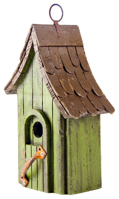 Distressed Wooden Birdhouse Rustic Birdhouses By
