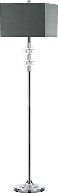Times Square Floor Lamp, Crystal