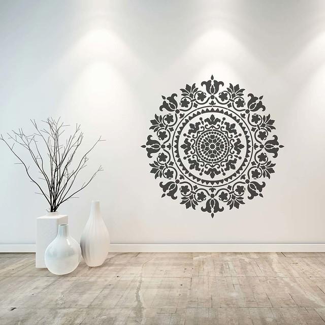 Mandala Stencil Gratitude Stencils For Easy Diy Home Decor 18