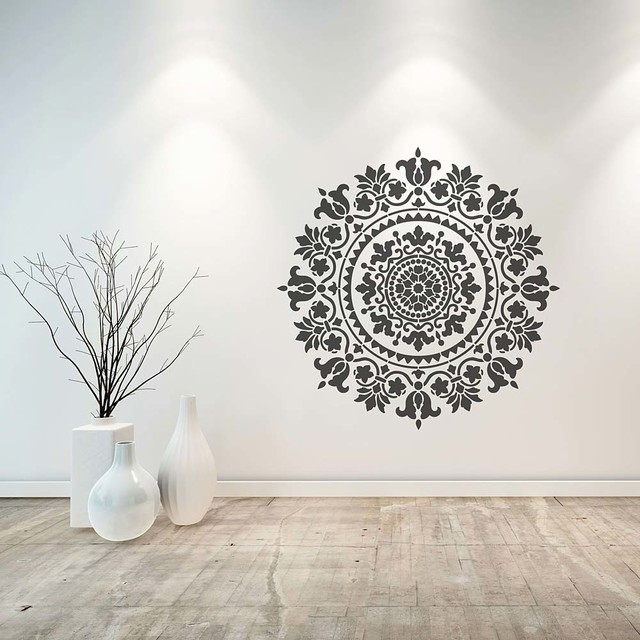 Gratitude stencils for easy diy home decor 18 quot asian wall stencils