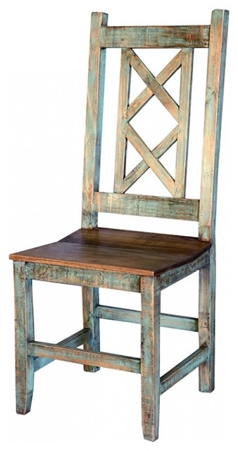 Superbe Rustic Cabana Chair, Multicolor
