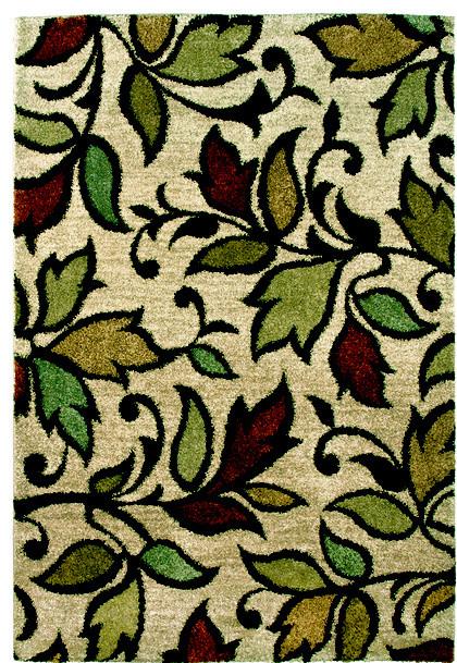 Orian, Wild Weave, 5&x27;3x7&x27;6 Bisque Rug.