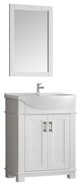 """Fresca Hartford 30"""" Traditional Bathroom Vanity ..."""