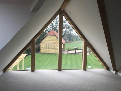 Window Treatment Triangle Window