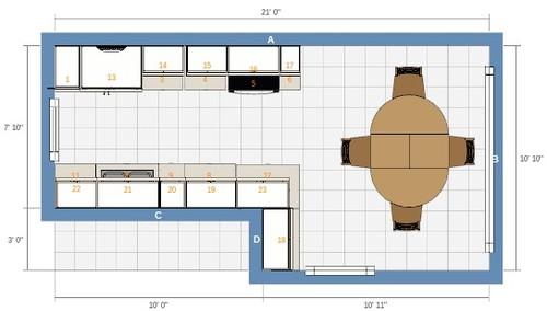 Renovating Extending Galley Kitchen