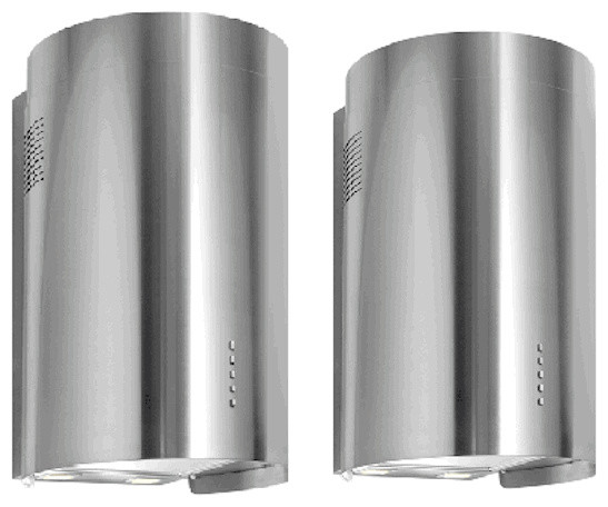 Nt Air Range Hood Wall Mounted Round Stainless Steel 36