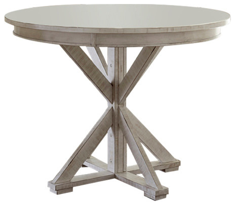 Cecily Counter-Height Table, White.