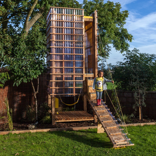Play Tower (Treehouse) Kane Architects contemporary