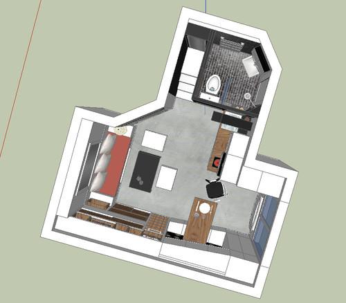 Duhesme - 18 m2