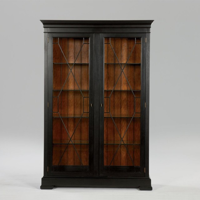 Ethan Allen Townhouse Coffee Table: Townhouse Birkhouse Display Cabinet