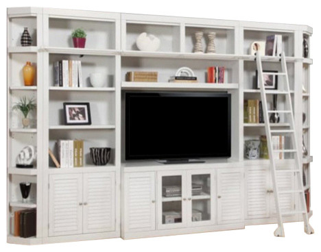 Boca Library Bookcase, 7-Piece Set.