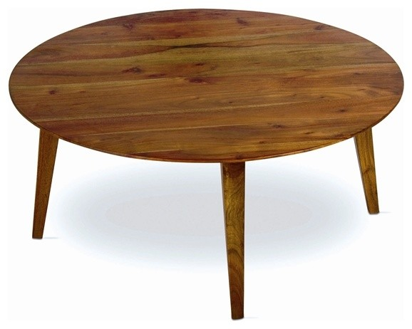 Tag Furniture Clybourn Coffee Table In Acacia Transitional Coffee Tables By Shopfreely