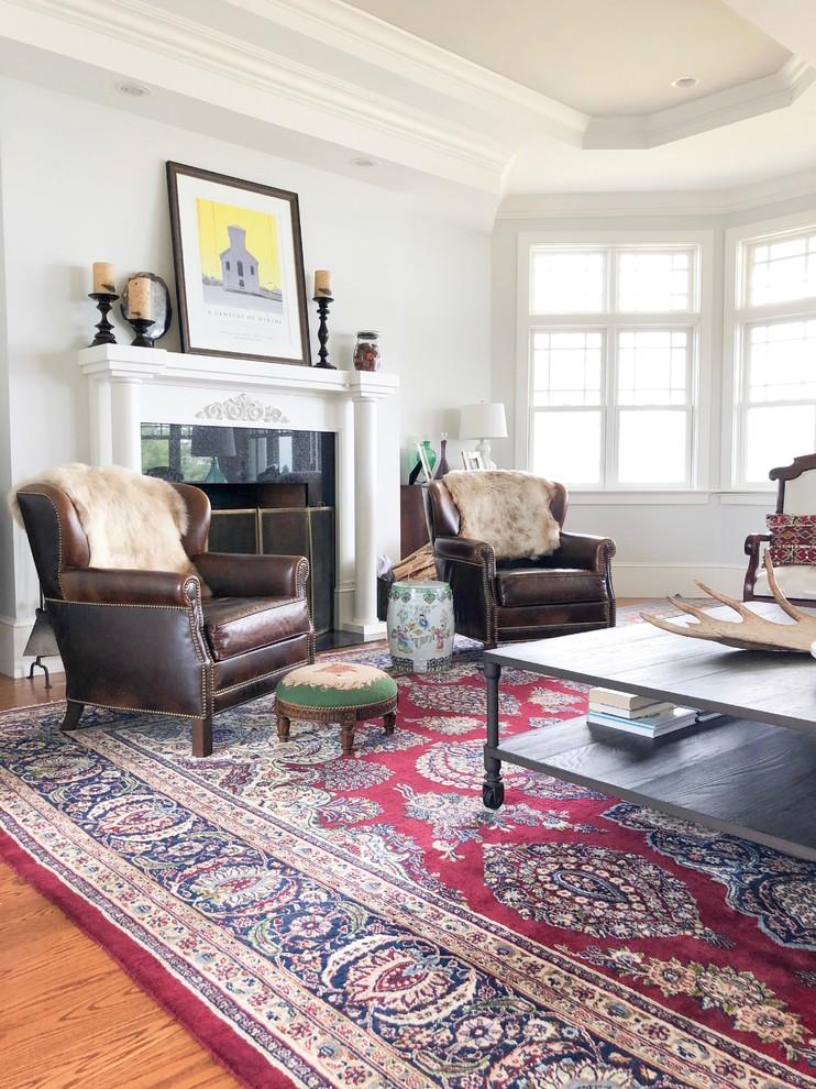 Eclectic home design photo in Bridgeport