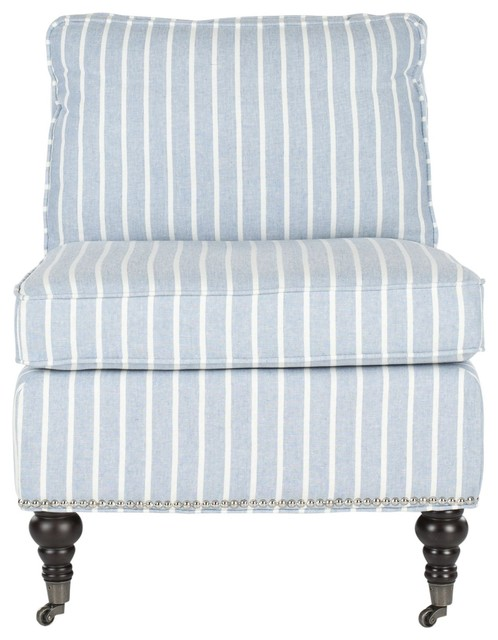 Safavieh Randy Slipper Chair Traditional Armchairs And