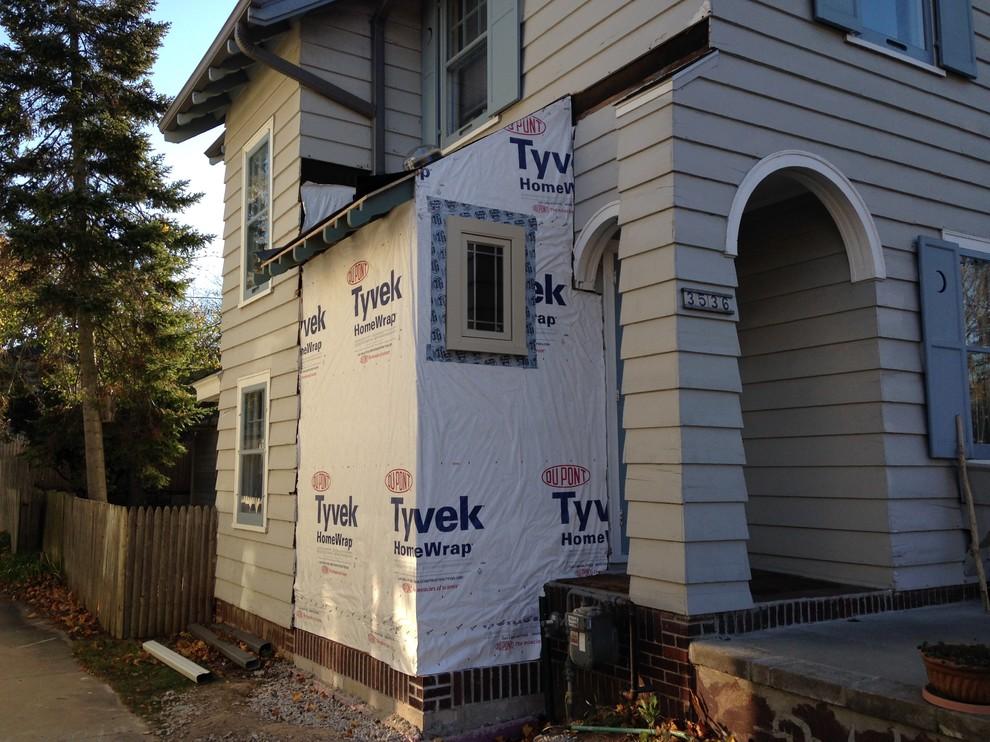 Shorewood House Renovation, Garage & Landscaping