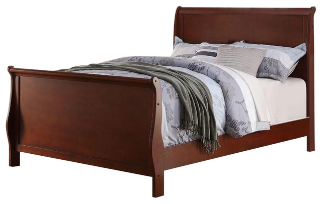 Twin Bed, Cherry.