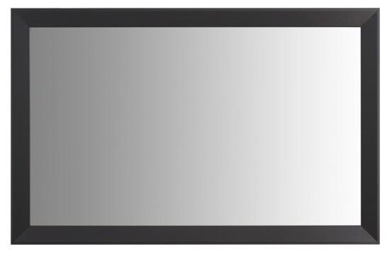 Larue Black Framed Mirror, 28 X 48.