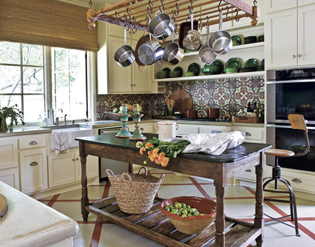 backsplash eclectic kitchen