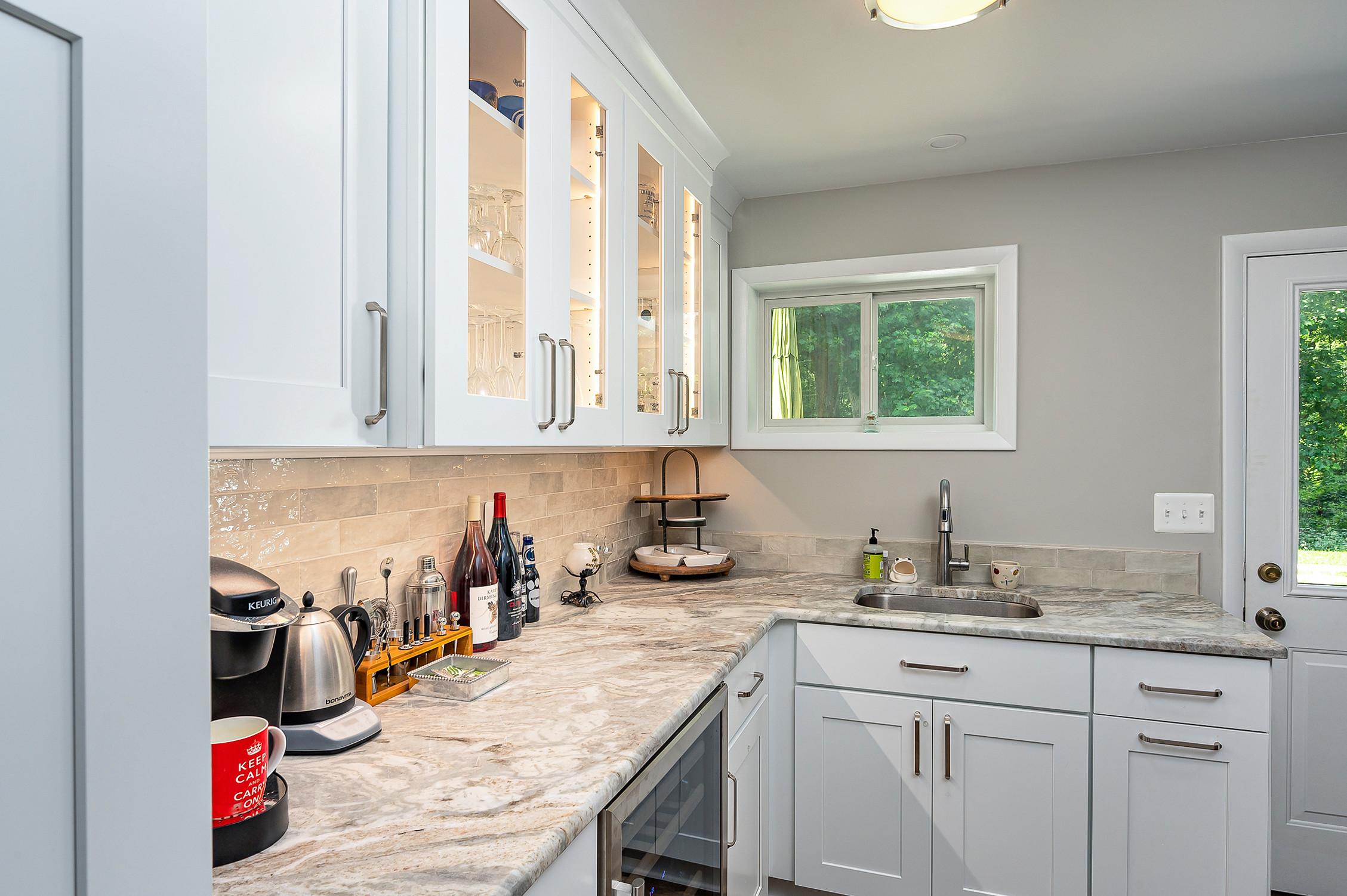 Davidsonville Kitchenette Remodel Project with bathroom