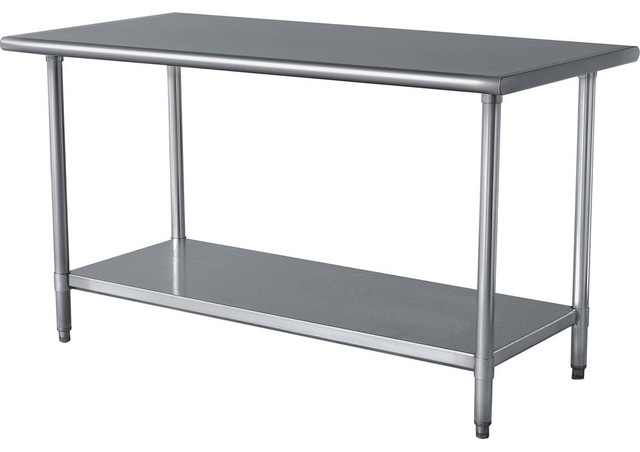 Stainless Steel Top Utility Table High Workbench Prep