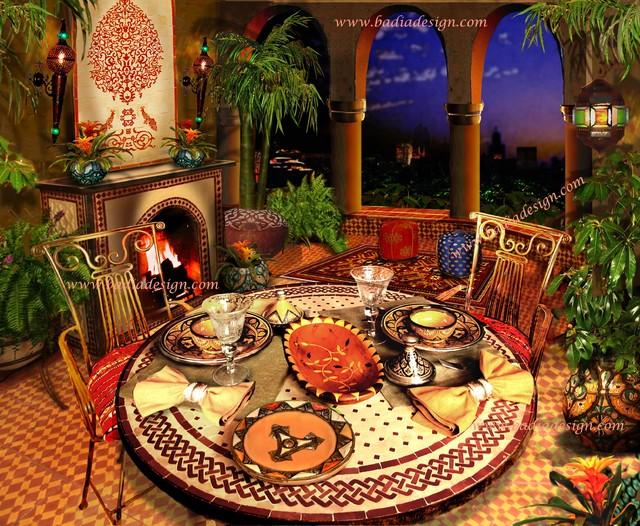 Moroccan Furniture Los Angeles