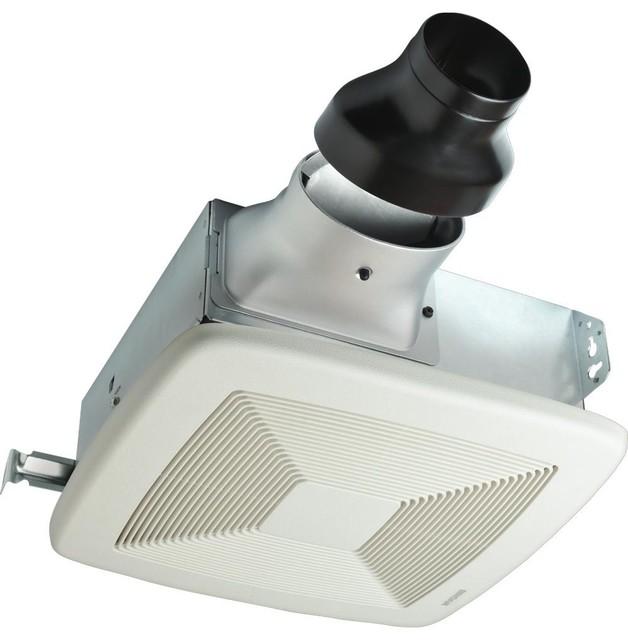 Broan Lopro Bathroom Exhaust Fan, 80 Cfm, 1.0 Sones, 13x14, White.