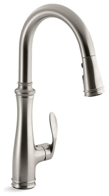 Kohler Bellera Kitchen Faucet With Pull-Down 16-3/4\