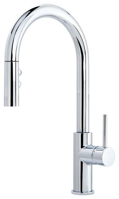 Miseno Mk191 Gemma Pullout Multi Flow Spray Kitchen Faucet