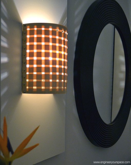 DIY Wall Sconces With Customizable Shades