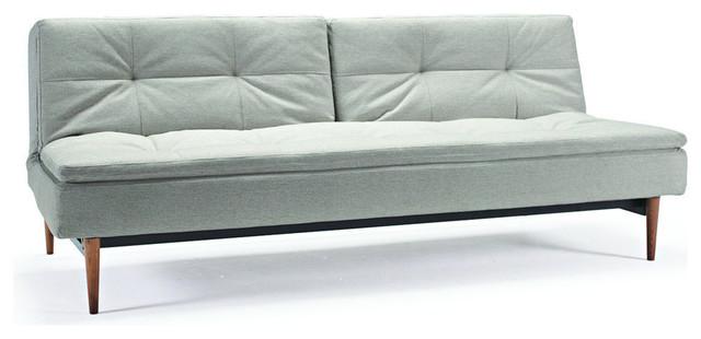 Dublexo Sofa Bed, Stainless Steel Legs, Mixed Dance Natural.