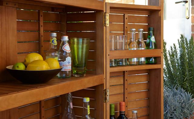Aland Wooden Bar Contemporary