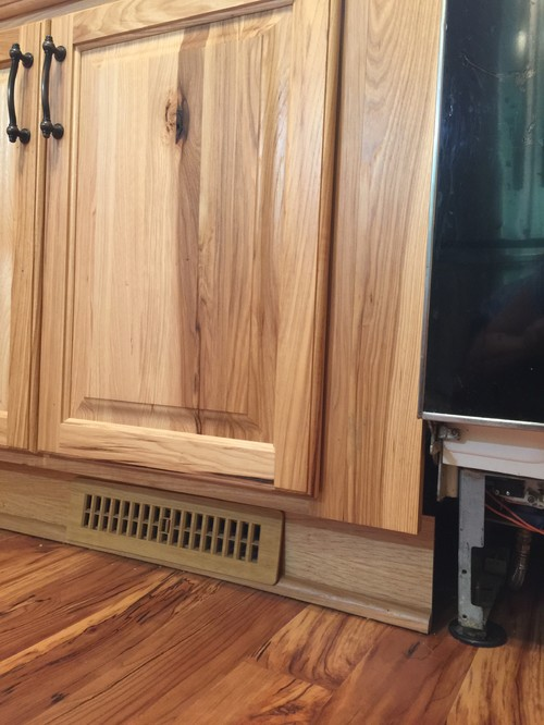 & Need advice: Thickness for custom panel dishwasher front