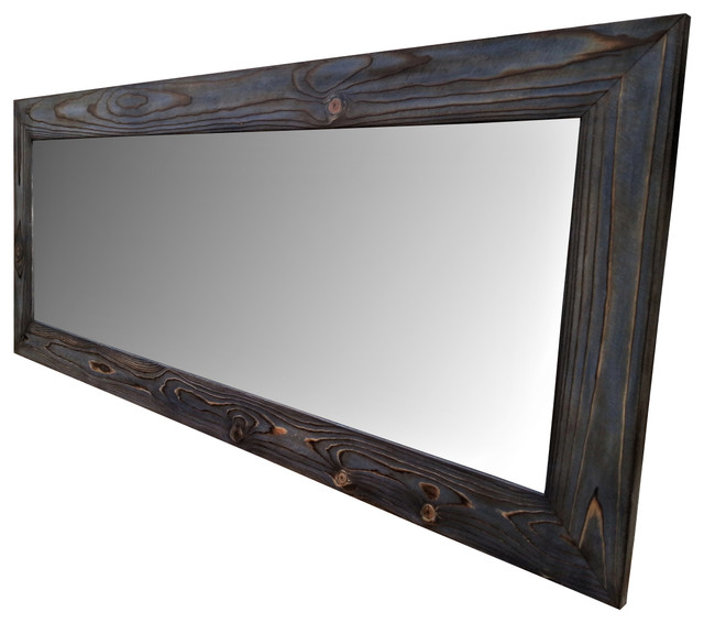 Full Length Mirror, Floor Mirror, Large Mirror, Navy Blue Mirror ...