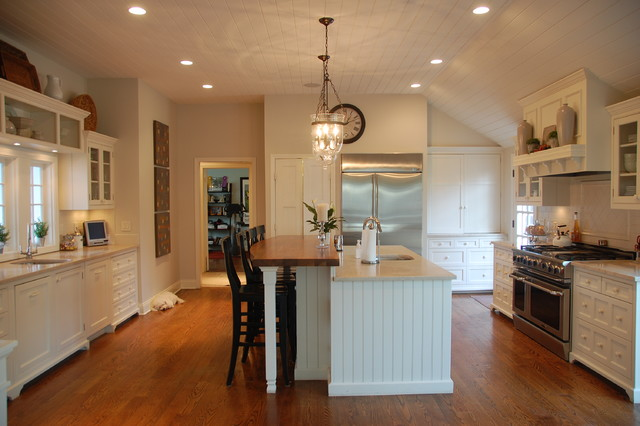 Remodeling Farmhouse Kitchen New York By Greystone Interiors