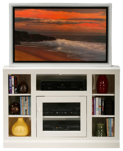 Eagle Furniture 45 Coastal Thin Corner Tv Cart Contemporary Entertainment Centers And Stands By