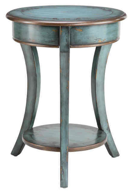 Freya Round Accent Table Farmhouse, Round Accent Tables