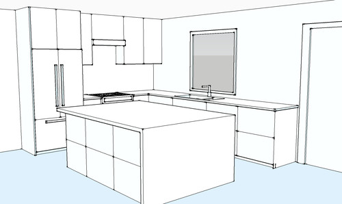 Kitchen design to island or not to island for 10x11 kitchen designs
