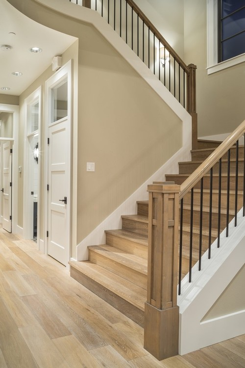 What Materials Is The Stair Skirt Board Made From It